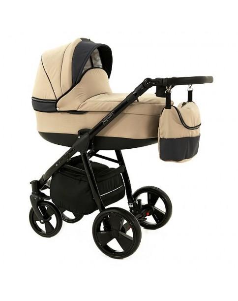 Paradise Baby Wózek Wielofunkcyjny Magnetico SLIM 2w1 50 beż