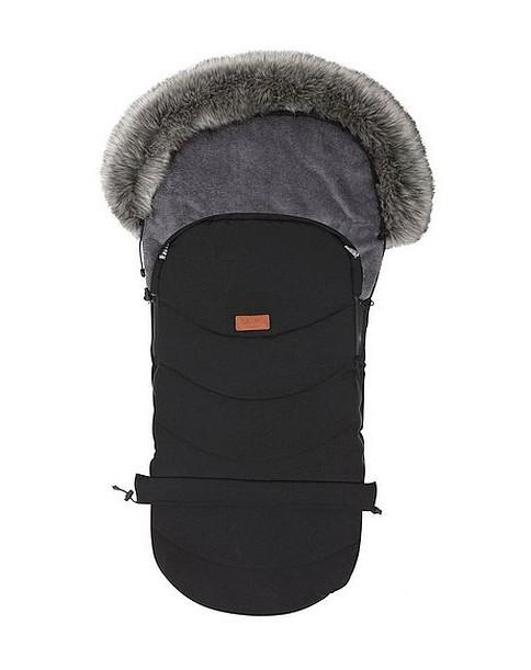 Baby Merc śpiwór uniwersalny Eskimosek do wózka oraz sanek czarny