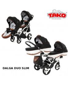 Tako Wózek Bliźniaczy Dalga Duo SLIM 2w1/ 3w1