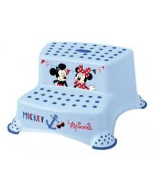 Keeeper Podest dziecięcy antypoślizgowy dwustopniowy Mickey