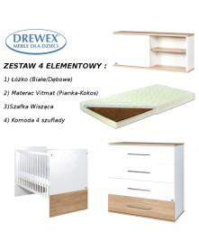 Drewex Zestaw 4-el New York