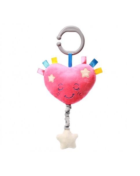BabyOno Zabawka dla dzieci z pozytywką LULLABY HEART 615
