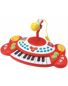 SmilyPlay Pianinko z Mikrofonem 2055