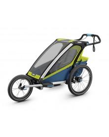 THULE Chariot Sport 1 wózek do biegania zielony-niebieski
