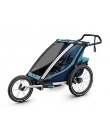 THULE Chariot Cross 2  wózek do biegania niebieski-granatowy