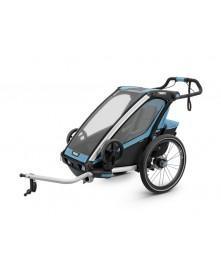 THULE Przyczepka rowerowa dla dziecka Chariot Sport 1 niebiesko-czarna