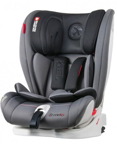 Coletto fotelik Samochodowy 9 - 36 kg Tessa Isofix Grey