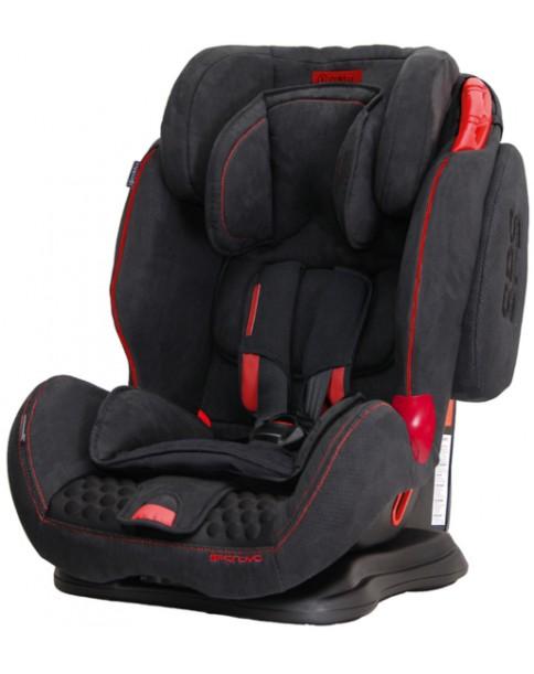 Coletto Fotelik Samochodowy Sportivo 9-36 kg Black