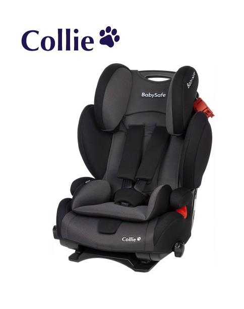 BabySafe Fotelik samochodowy Collie 9-36 kg Czarno-szary