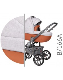 Baby Merc Wózek wielofunkcyjny Bebello 166A