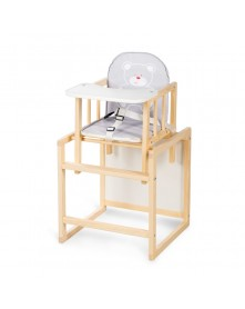 Klupś Krzesełko / stolik Aga I sosna