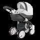 Adamex Wózek Wielofunkcyjny 2w1 Barletta Delux Carbon 18 S