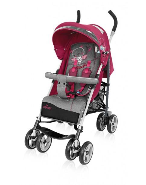 Baby Design wózek spacerowy Travel Quick pink 08
