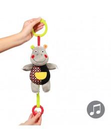 Baby Ono Zabawka dla dzieci z pozytywką HIPPO ALBERT C-MORE COLLECTION 0m+ 639