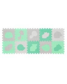 Baby Ono Puzzle piankowe 10szt Zwierzęta 6m+ 395/01