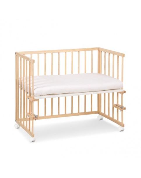 Klupś łóżeczko dostawne Piccolo Due sosnowe 90x40