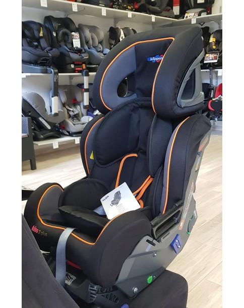 Klippan fotel samochodowy Kiss 2 Plus 0-18kg Orange