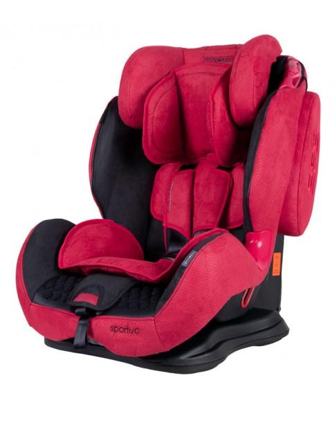 Coletto Fotelik Samochodowy Sportivo 9-36 kg Red