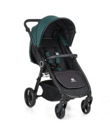 Petite&Mars kompaktowy wózek spacerowy Street do 25 kg Emerald Green
