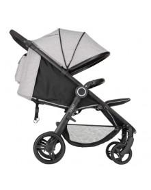 Petite&Mars kompaktowy wózek spacerowy Street do 25 kg Shadow Grey