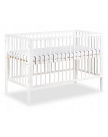 Klupś łóżeczko Frank białe 120x60cm