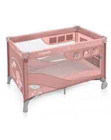 Baby Design łóżeczko turystyczne dwupoziomowe Dream Regular