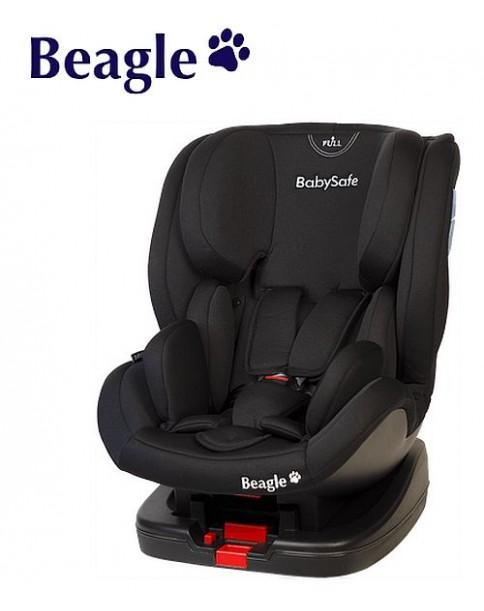 BabySafe fotel Beagle 0-25kg czarny