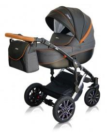 Milu Kids wózek wielofunkcyjny Starlet Chrom 2w1 / 3w1