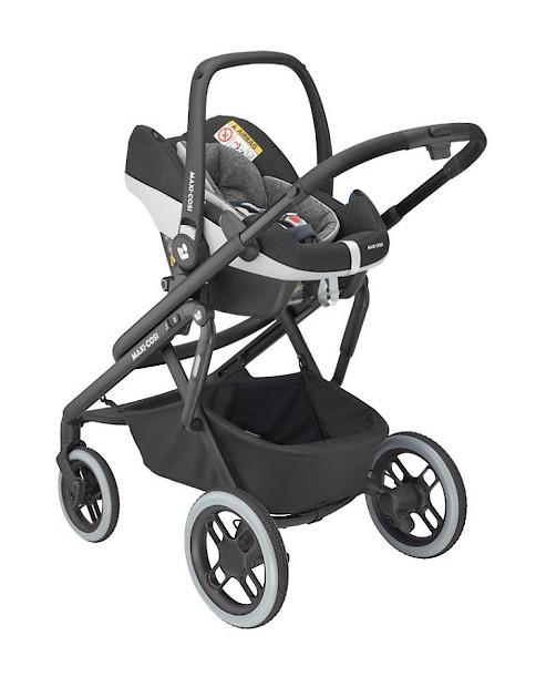 Maxi-Cosi wózek Lila XP Pebble Pro Essential Black