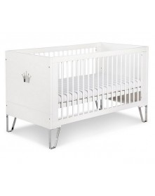 Klupś łóżeczko-tapczan Blanka Białe 140x70cm