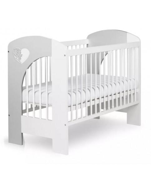 Klupś NEL SERCE łóżeczko 120x60