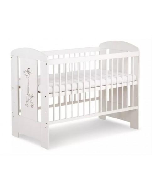 Klupś Safari Żyrafka Biała łóżko