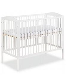 Klupś łóżeczko Henry białe 120x60cm