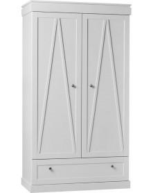 Pinio szafa 2-drzwiowa Marie biała