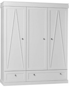 Pinio szafa 3-drzwiowa Marie biała
