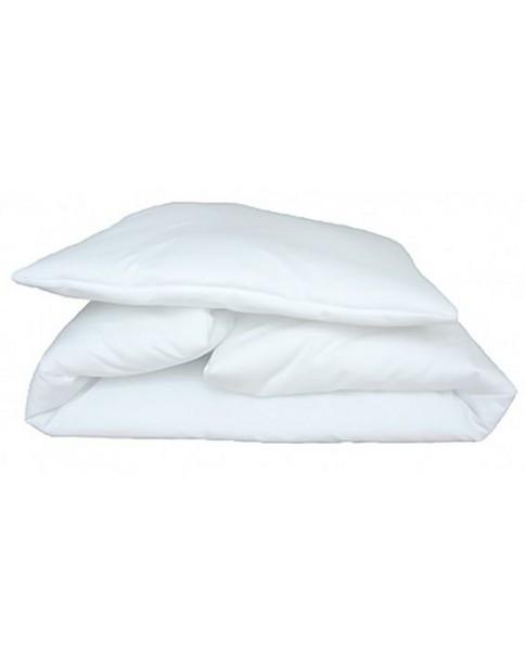 MD Wypełnienie pościelowe białe - wkład (kołdra+poduszka ) 120x90cm