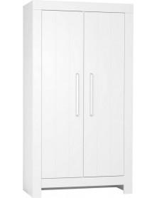 Pinio szafa 2-drzwiowa Calmo biała/ szara
