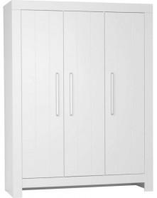 Pinio szafa 3-drzwiowa Calmo biała/ szara