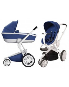 Quinny Wózek Wielofunkcyjny Moodd + ondola Foldable Blue Base 2w1