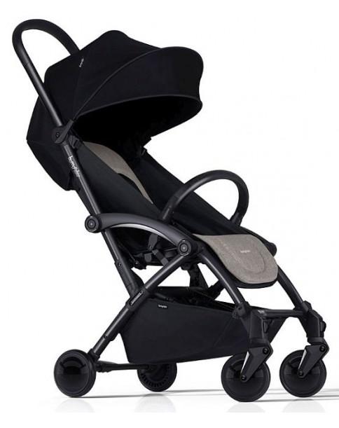 Wózek Spacerowy / Bliźniaczy Bumprider Connect czarny stelaż Khaki-Czarny