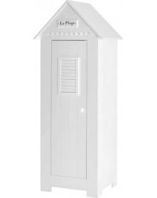 Pinio szafa 1-drzwiowa biała Marsylia MDF