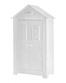 Pinio szafa 2-drzwiowa biała Marsylia MDF