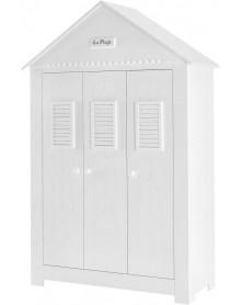 Pinio szafa 3-drzwiowa biała Marsylia MDF