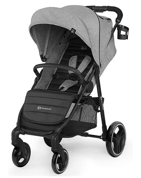 Kinderkraft wózek spacerowy GRANDE CITY Grey