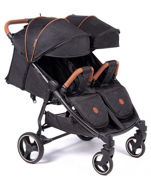 Coletto bliźniaczy wózek wielofunkcyjny lub rok po roku Enzo Twin Black