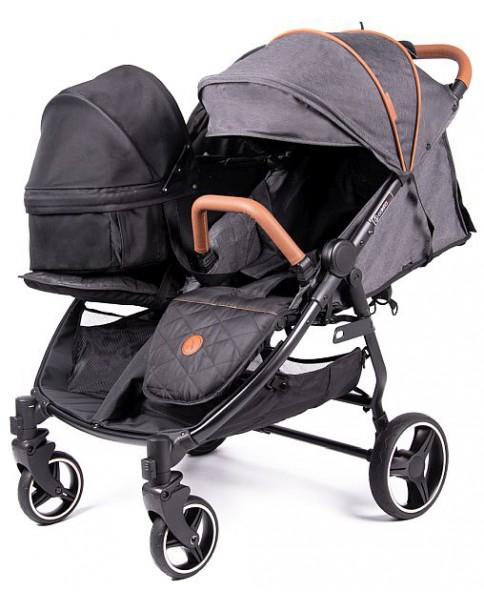 Coletto bliźniaczy wózek wielofunkcyjny lub rok po roku Enzo Twin - gondola pojedyncza