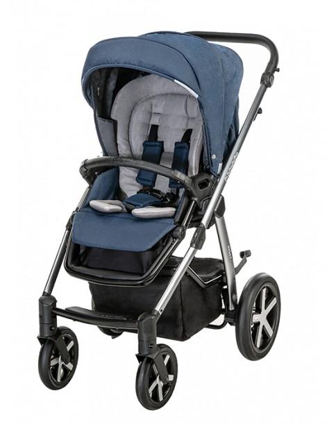 BabyDesign Wózek Wielofunkcyjny Husky 2w1 103 navyy