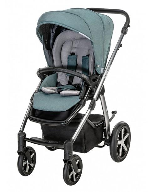 BabyDesign Wózek Wielofunkcyjny Husky 2w1 105 turquoise