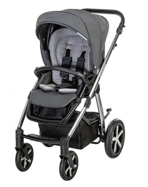 BabyDesign Wózek Wielofunkcyjny Husky 2w1 117 graphite