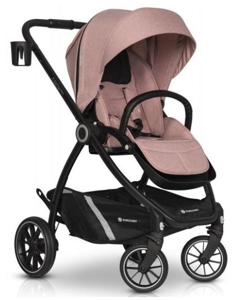 Euro-Cart wózek spacerowy CROX PRO do 22kg Rose